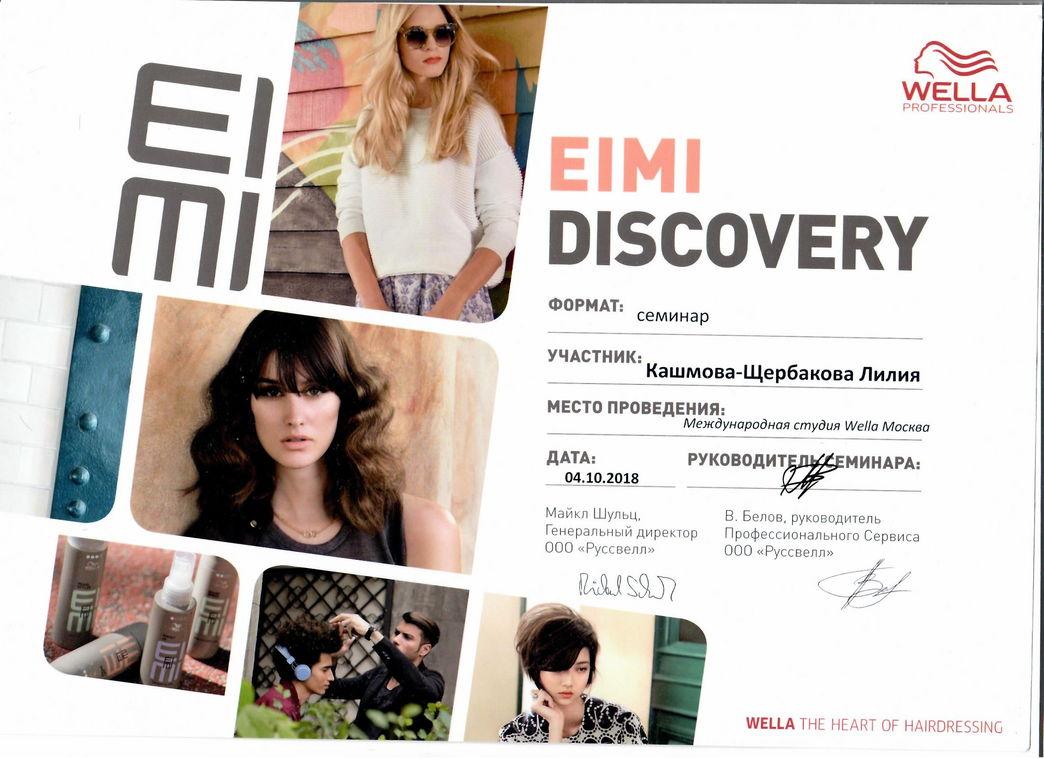 2018 eimi discovery wella