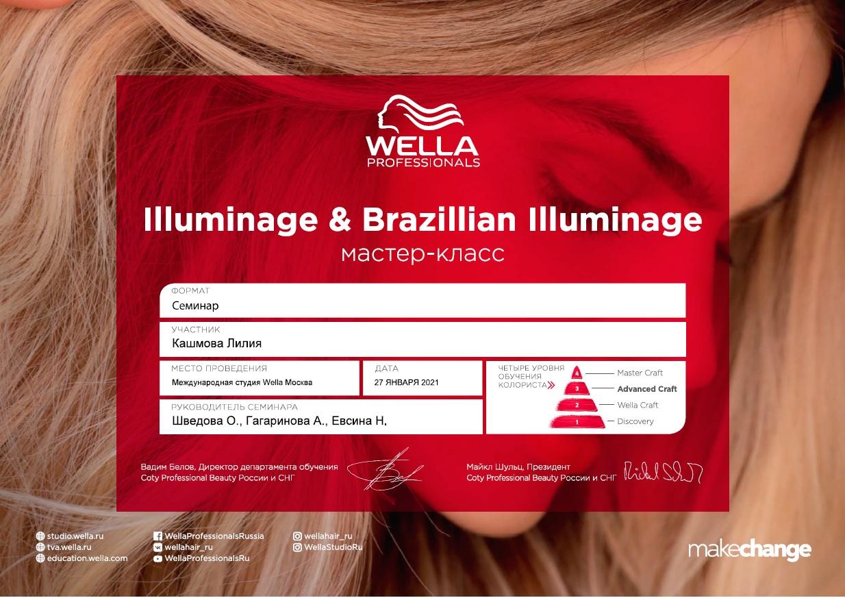 2021, мастер-класс Illuminage &Brazillian Illuminage