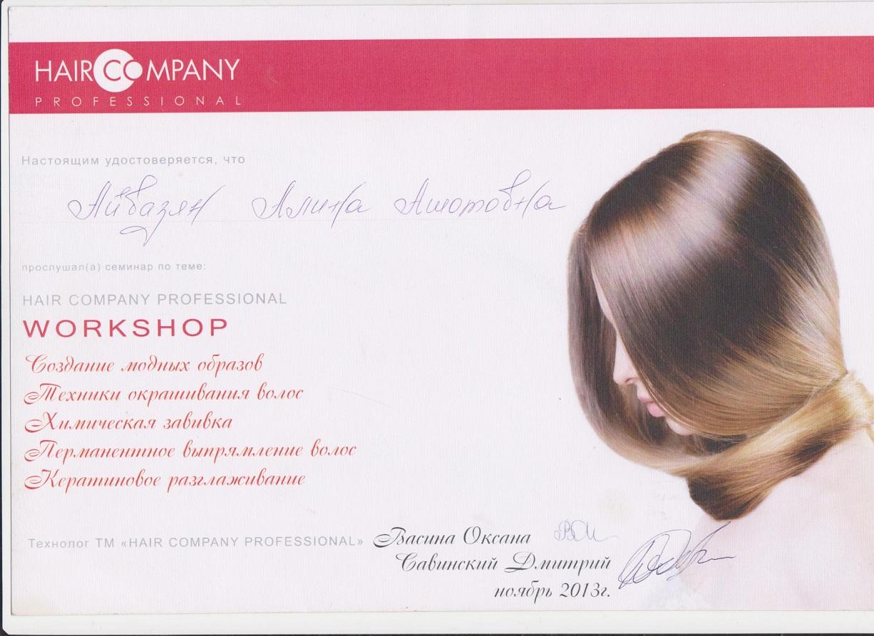 2013 hair company