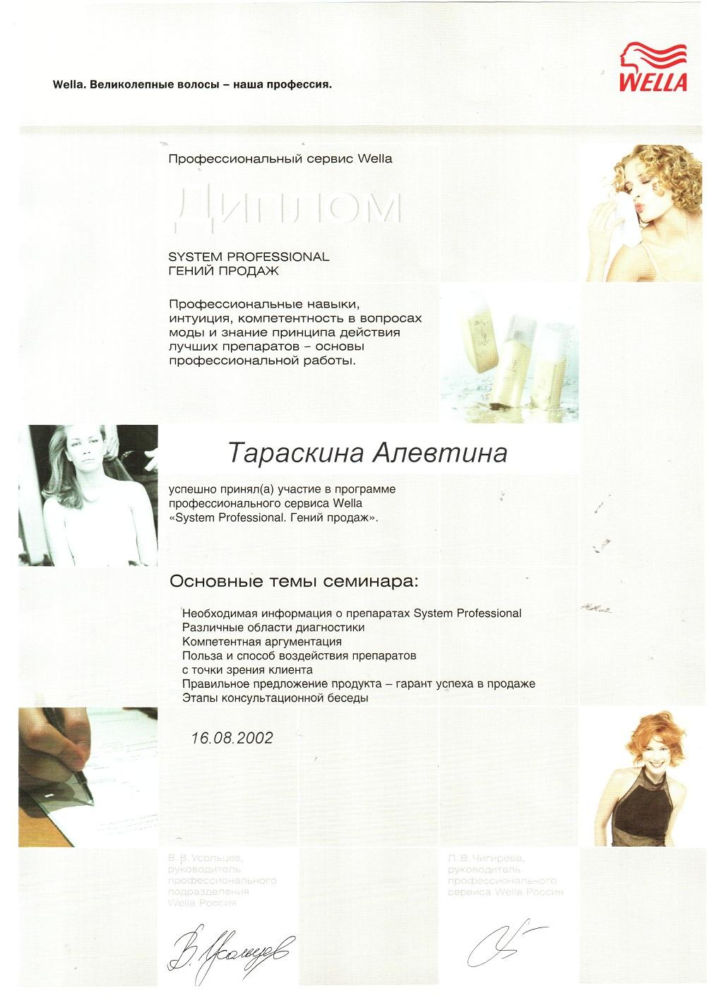 2002 System Professional. Гений продаж