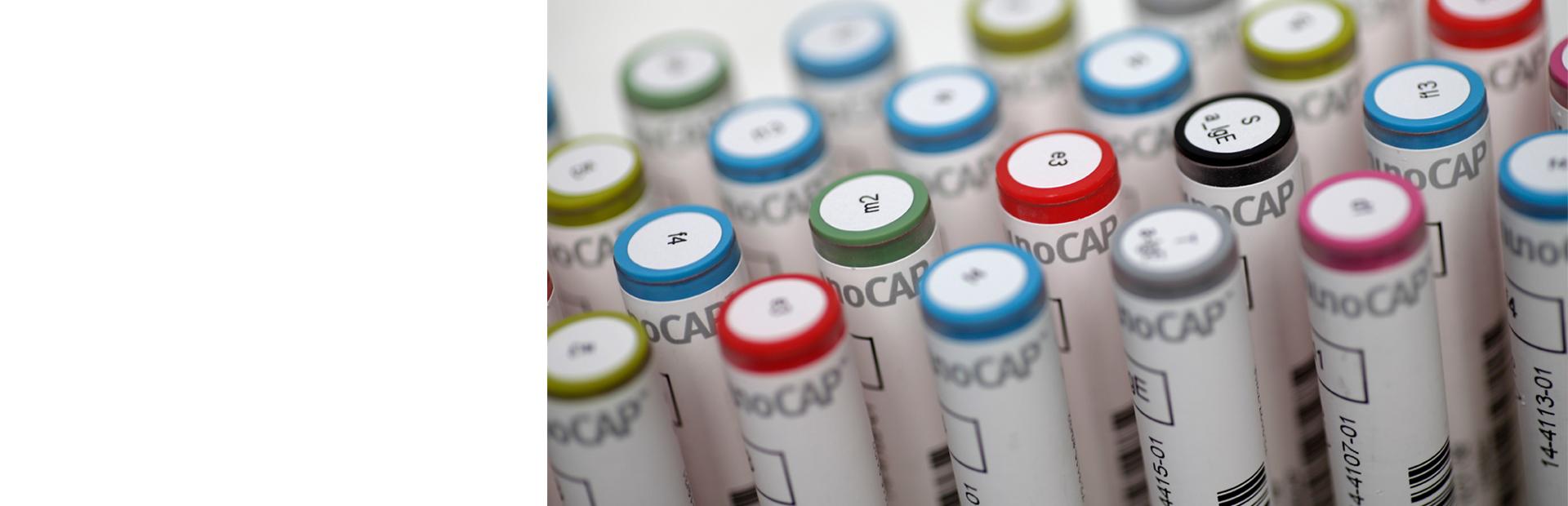 IgE - аллерготесты, смеси, панели, общий IgE