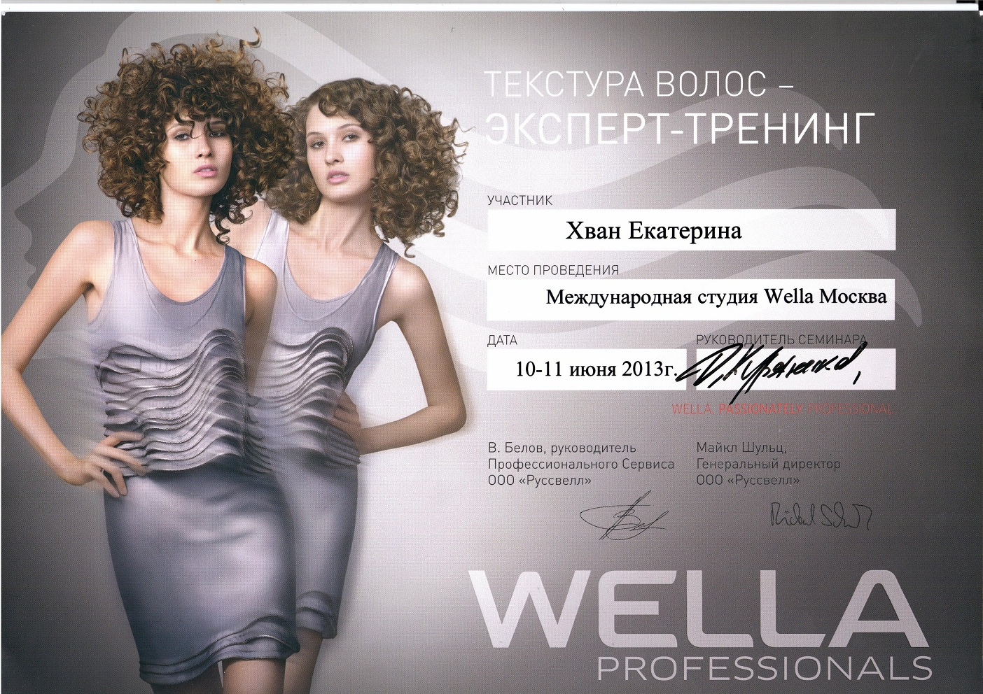 2013 текстура волос-эксперт тренинг wella