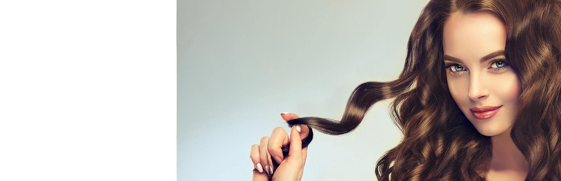 Укладка волос (локоны)
