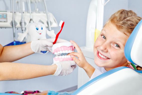 Профессиональная гигиена полости рта у детей