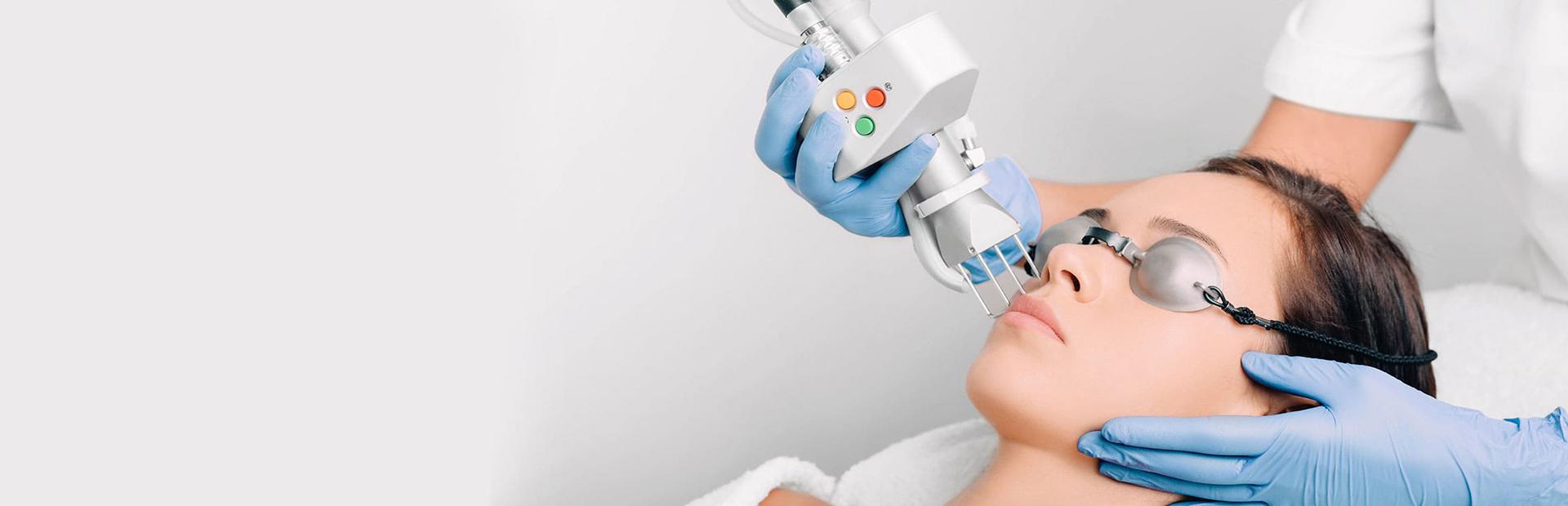 Молодость без хирургии: Фракционный СО2 лазер