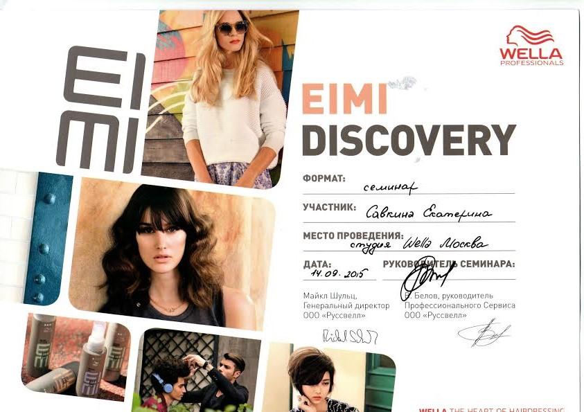 2015 eimi discovery