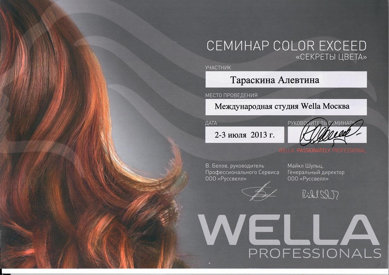2013 секреты цвета wella