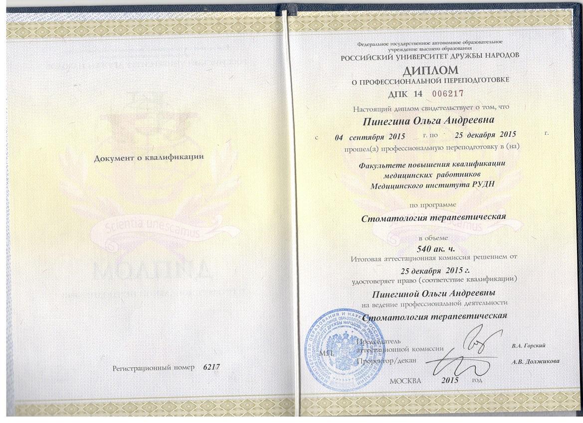 2015 диплом