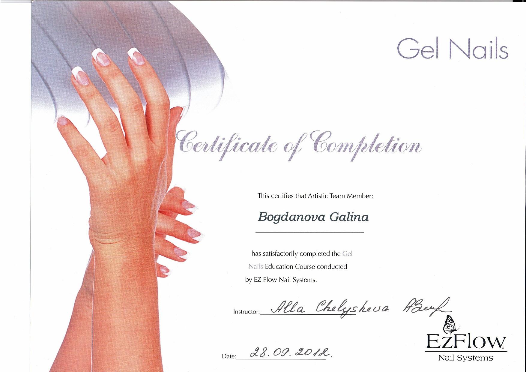 2012 Gel Nails