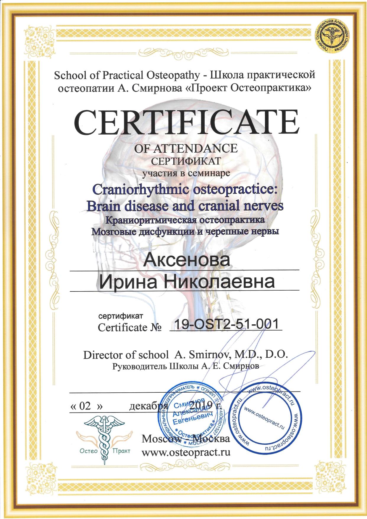 Краниоритмическая остеопрактика