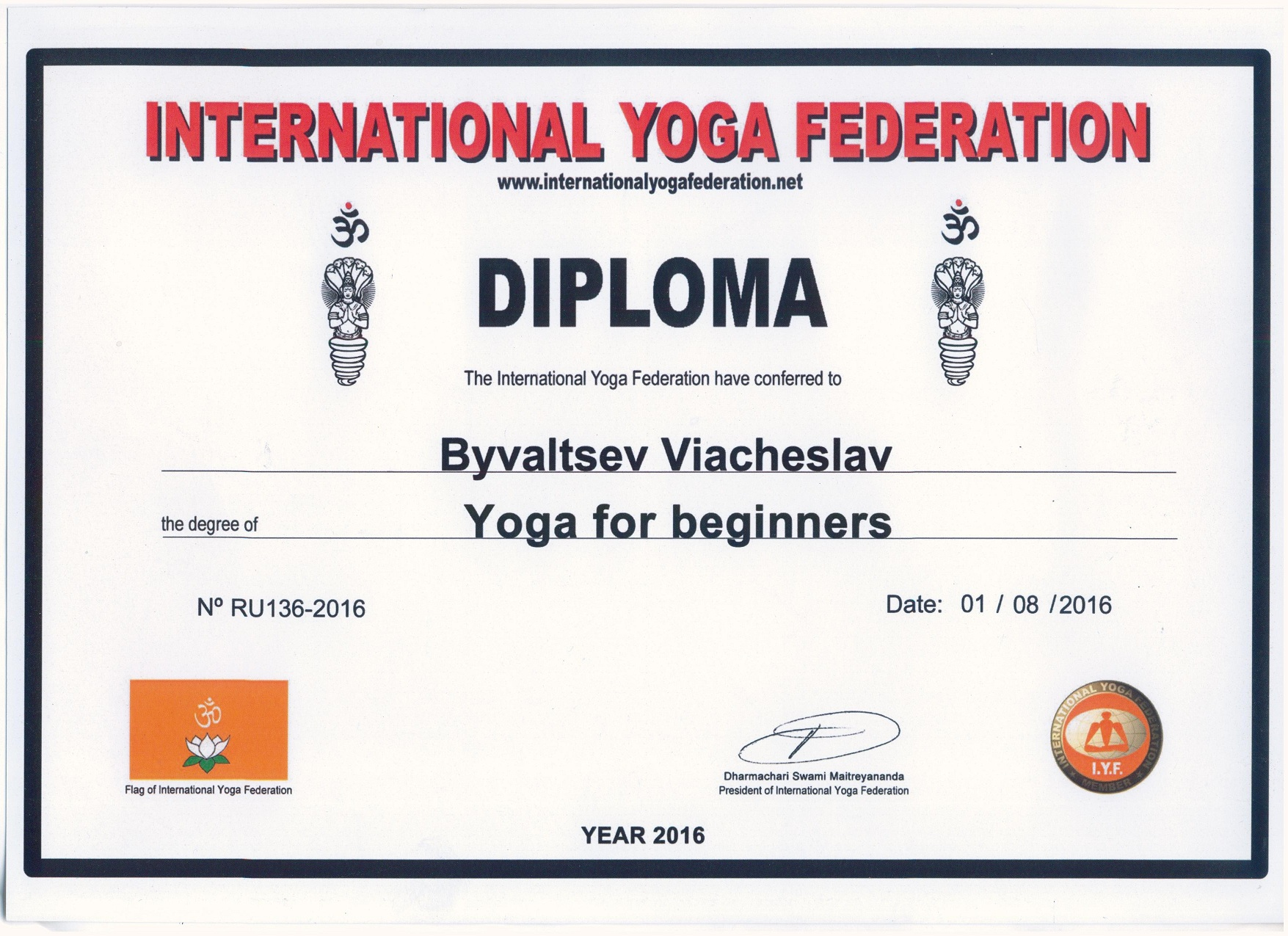 2016 Yoga