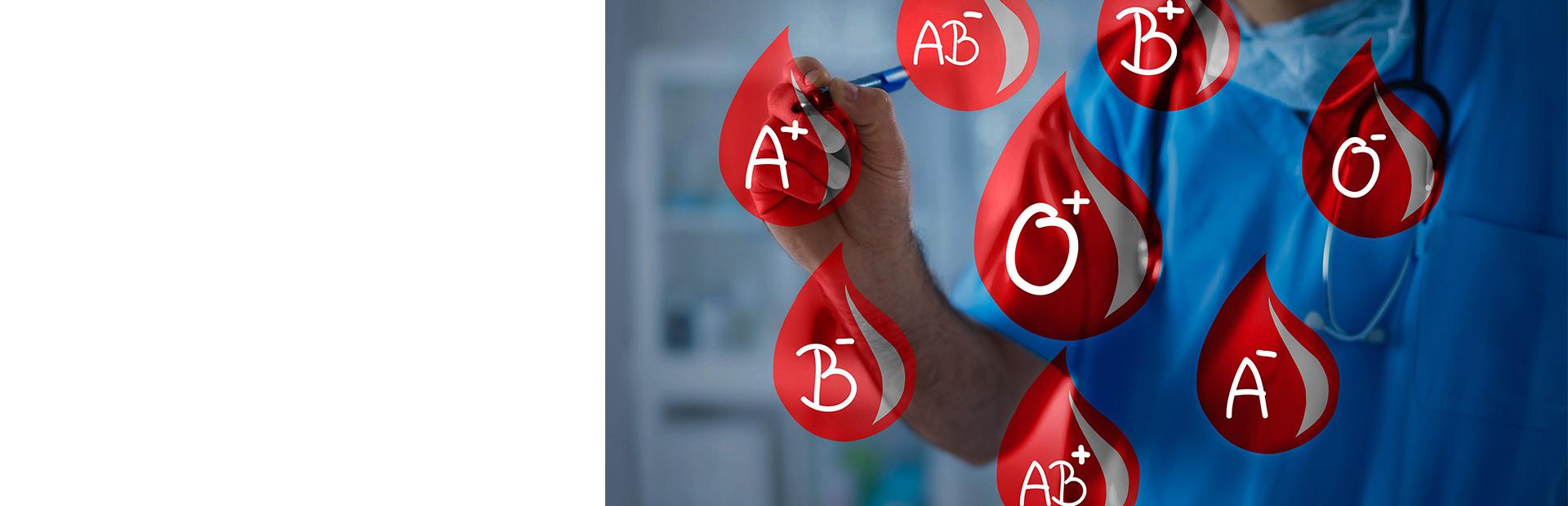 Иммуногематологические анализы крови (групповая принадлежность крови)