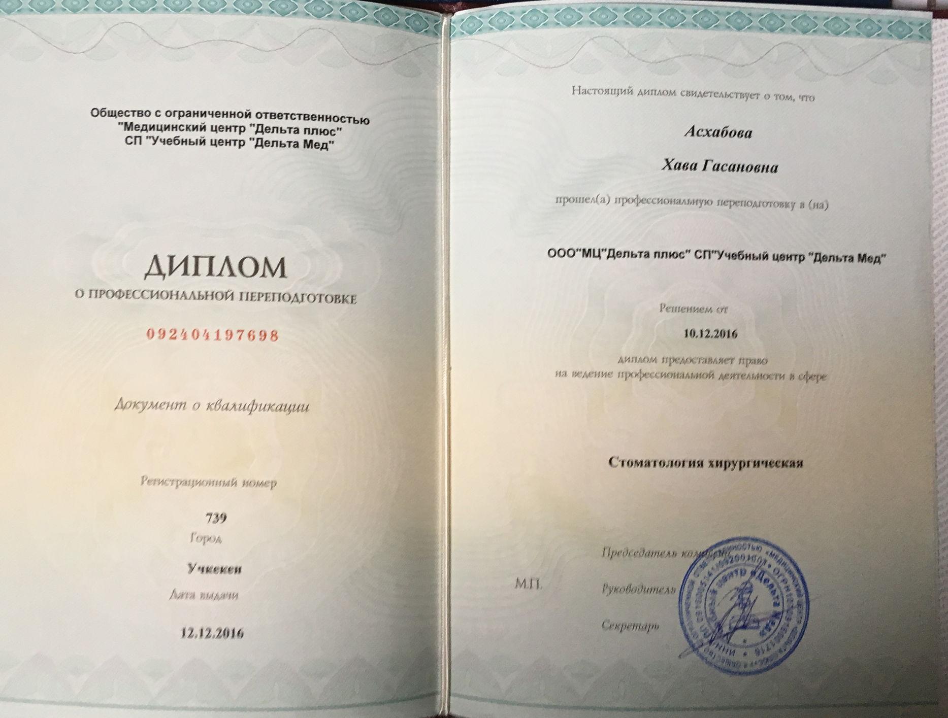 2016 диплом